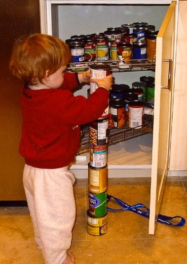 Children with Autism Usually Stack or Line Objects Up