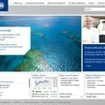 Insurance News Snap Shot of Allianz Website