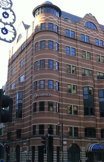 Zurich Insurance Company News Building in Leeds