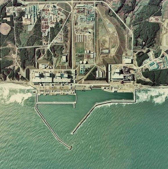 Fukushima Nuclear Plant Before Earthquake