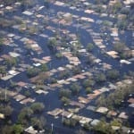 Hurricane Katrina Flood Damage homeowners insurance