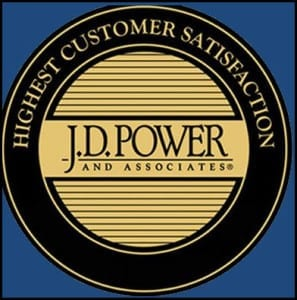 J.D. Power and Associates Award