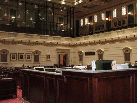 Oklahoma State Senate Chamber