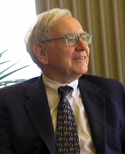 Warren Buffett, CEO of Bershire Hathaway Inc.