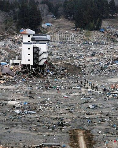 2011 Japan Tsunami Damage