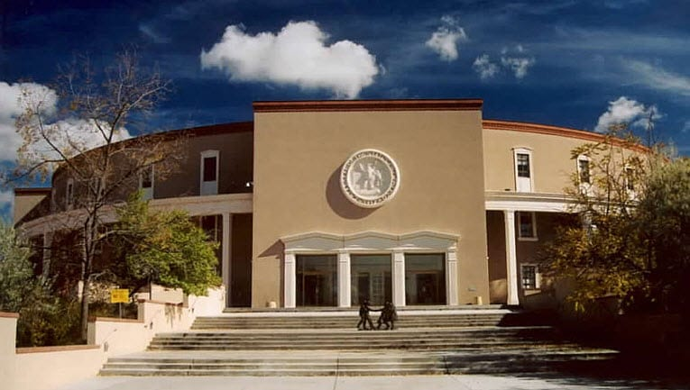 Capital Building Santa Fe New Mexico health insurance