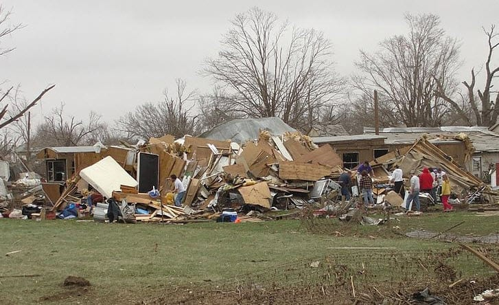 Tornado insurance - recent damage