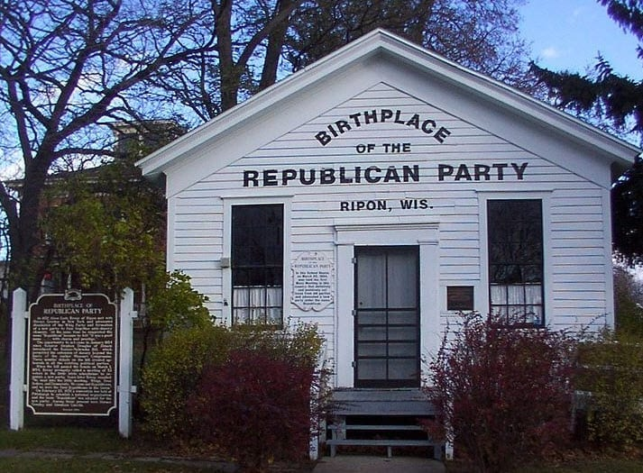 The First Republican Meeting Held in Wisconsin