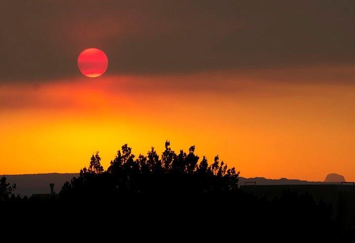 Arizona Wildfires 2011