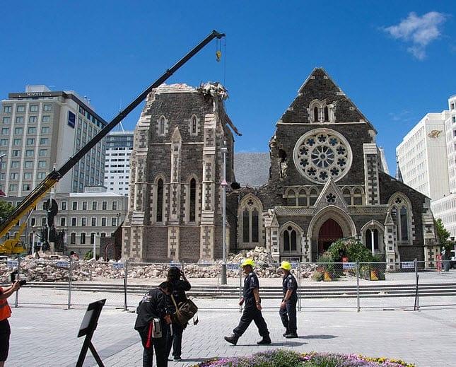 Christchurch New Zealand Insurance earthquake court