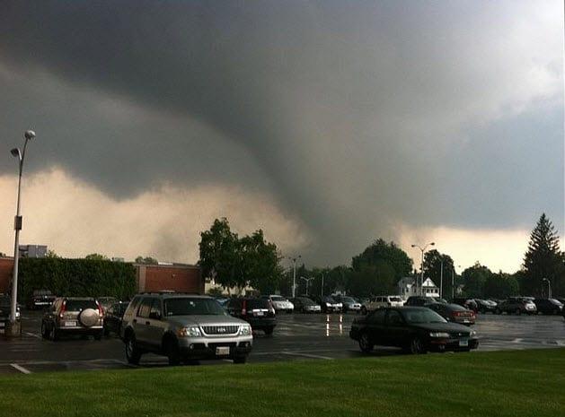 Massachusetts Tornado 2011