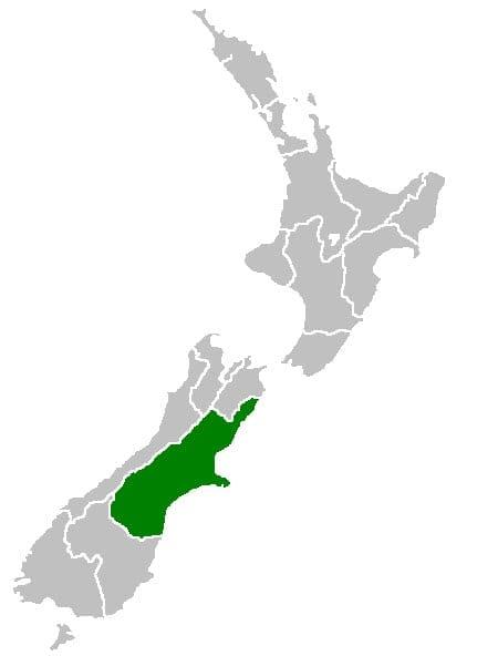 Canterbury Region New Zealand