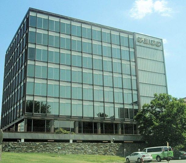 Geico Headquarters auto insurance