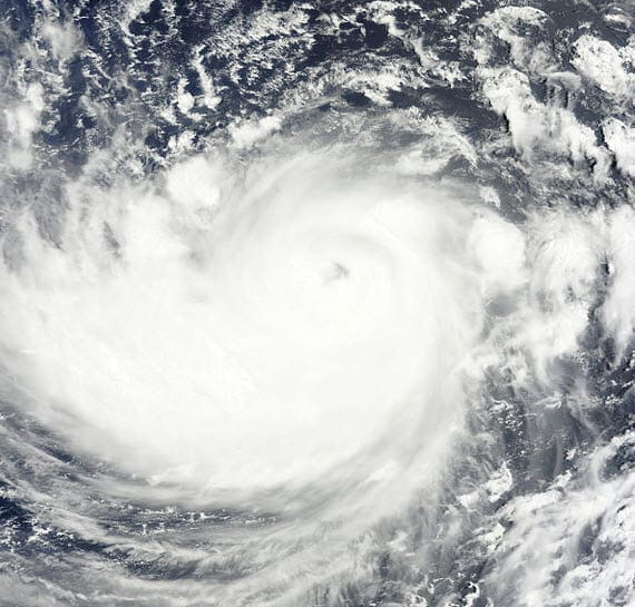 Satelite Image of Ma-On Typhoon