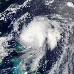 Tropical Storm Bret Satelite Picture