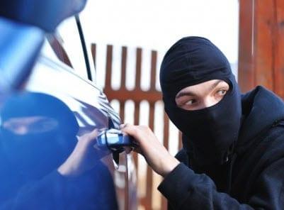 Vehicle Theft black friday auto insurance claims