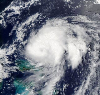Example of Tropical Storm