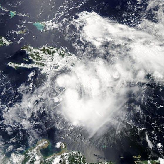 Tropical Storm Emily 2011