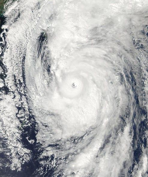 Typhoon Roke 2011