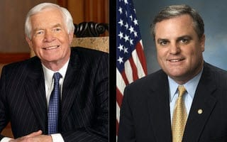 Senators Thad Cochran and Mark Pryor