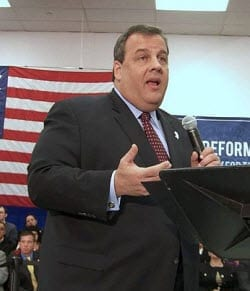 Governor Chris Christie Flood Insurance