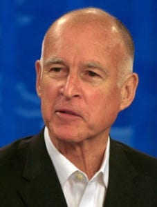 Governor Jerry Brown - California health insurance