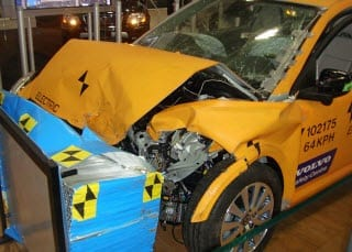 Hybrid Auto Crash Test