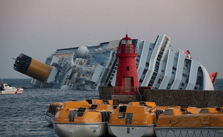 Costa Concordia Insurance Payout