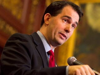 Wisconsin Governor Scott Walker health insurance
