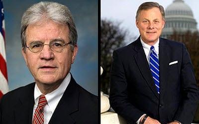 Senator Tom Coburn and Senator Richard Burr, Left