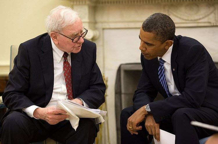 Warren Buffett and President Obama