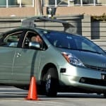 Google driverless cars auto insurance