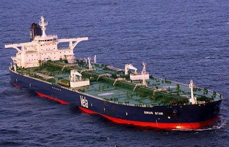 Ban on oil shipping insurance