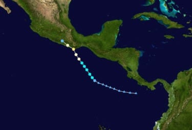 Hurricane Carlotta news