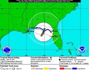 Tropical Storm Debby
