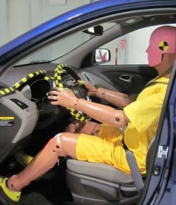 Auto insurance crash tests results