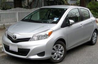 2012 Toyota Yaris - Auto Insurance Report