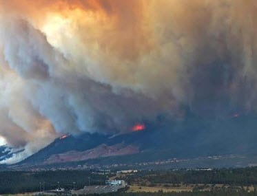 Colorado homeowners insurance industry wildfires