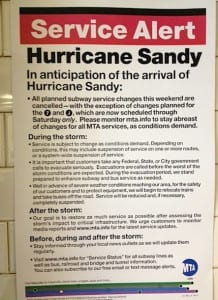 Hurricane Sandy Insurance News