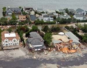 Hurricane Sandy Damage flood Insurance surcharge
