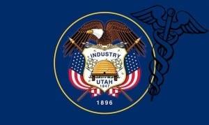 Utah flag health insurance