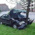 Teen Auto Car Crash