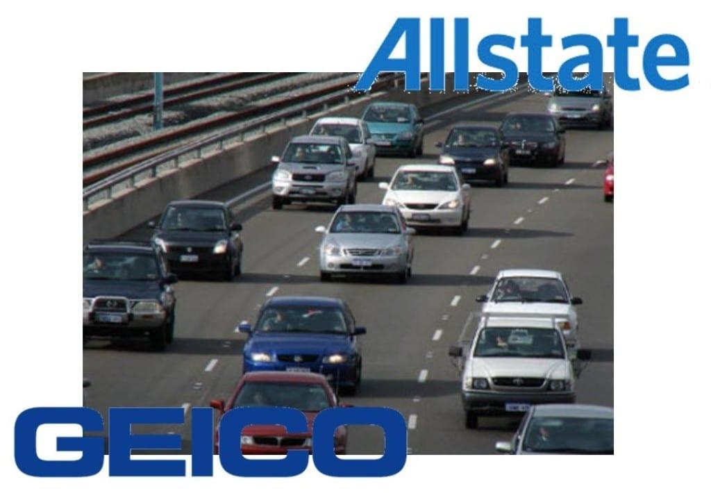 Allstate auto insurance Geico