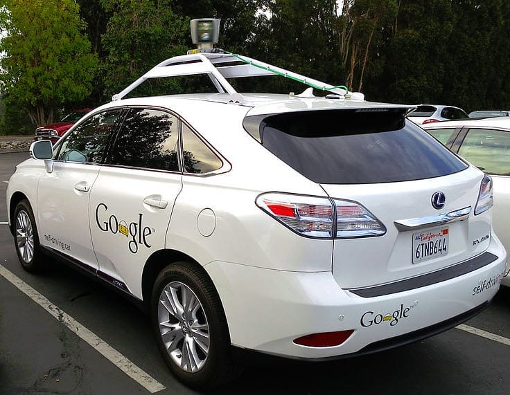 Google driverless car insurance