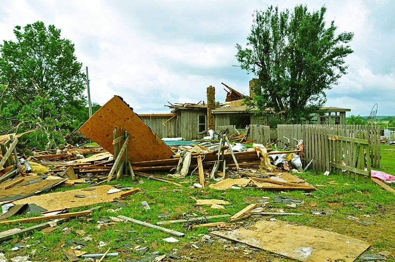 Homeowners insurance losses oklahoma tornado