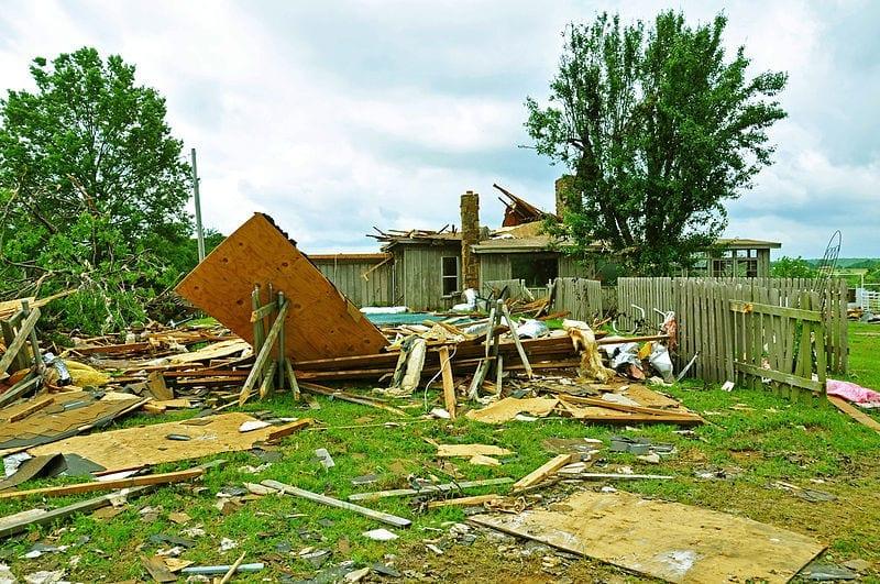 Homeowners insurance losses oklahoma tornado