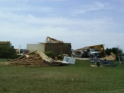 Oklahoma Tornado homeowners insurance