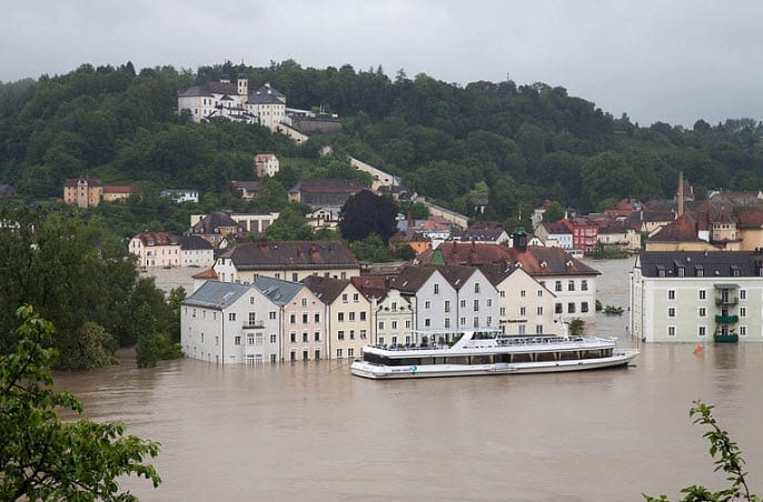 Europe insurance industry Flooding and Heavy Rains