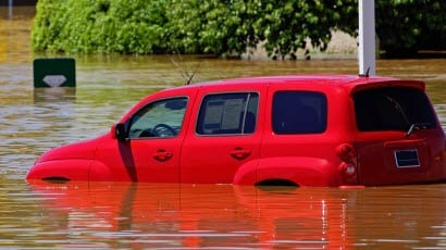 Floodwaters flood insurance