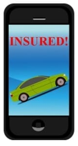 digital electronic mobile proof of auto insurance
